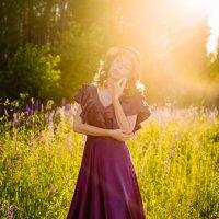 Лето в люпине :: Анастасия Плесская