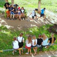 Ну, а девчонки сидят в сторонке.. :-) :: Андрей Заломленков