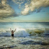 Так вот ты какой...океан... :: Александр Бойко