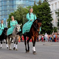 Башкирские наездницы :: Nina Karyuk