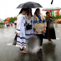 А мы под зонтиком!!! :: Наталья Пендюк Пендюк