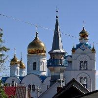 Купола храмов. Похвистнево. Самарская область :: MILAV V