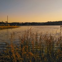 Вечер на озере :: Александр Шишин