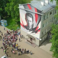 портрет Владимира Машкова Новокузнецк :: Юрий Лобачев