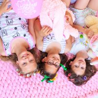 Пижамная вечеринка :: Любовь Дашевская
