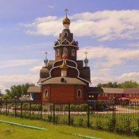 Храм Богоявление Господне в летний день . :: Мила Бовкун