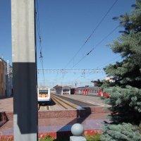 Железнодорожные платформы на Финляндском вокзале. :: Светлана Калмыкова