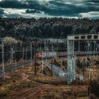 Товарный поезд :: Андрей Неуймин