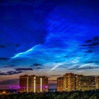 Серебристые облака :: Алексей Строганов