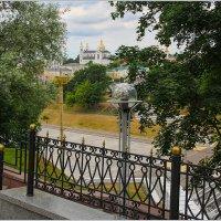 Окно на старый Витебск. :: Роланд Дубровский
