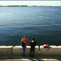 На Волге летом. (1) :: Юрий ГУКОВЪ