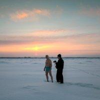 На фотосъёмке в День Крещения. :: Валентин Кузьмин