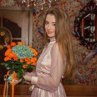 Леди с букетом :: Ольга Кошевая