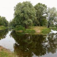 Островок тишины :: Геннадий Худолеев