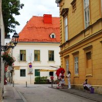 На улочках Загреба :: Гала