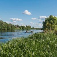 Лето на реке Дубне. :: Виктор Евстратов