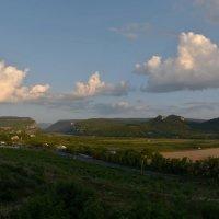 Облака над Бельбекской долиной :: Игорь Кузьмин