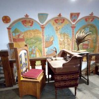 Внутреннее убранство одного из музеев в замке Выборга. :: Светлана Калмыкова