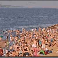 Вода,солнце, Волга, жара,Чебоксары. :: Юрий Ефимов