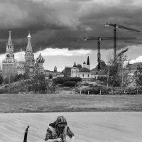 Тучи над Москвой... :: Фёдор Бачков