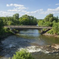 Мост через реку Бабка :: Алексей Сметкин
