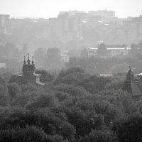 Дождь. Коломенское :: Александр Зизенков