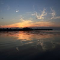 Озеро,закат. :: Павел