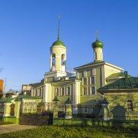 Храм Святителя Николая на Глинках :: Сергей Цветков