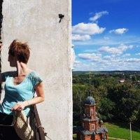 С башни Волоколамского кремля :: Наталья Горшкова