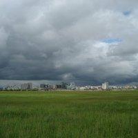 Тучи над городом встали :: Anna Ivanova