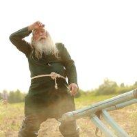 пахарь модель Андрей Мокульский :: Grey