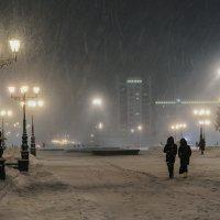 Снегопад :: Сергей Шатохин