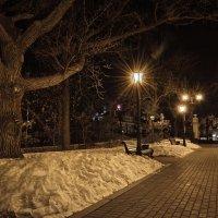 Холодный вечер. :: Сергей Шатохин
