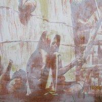 Рисунок на стене. :: Зинаида