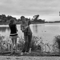 Хорош рыбачить ... :: Евгений Хвальчев