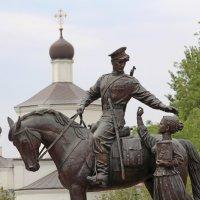 Памятник российскому казачеству «Казачья Слава» :: Dr. Olver ( ОлегЪ )