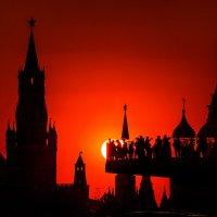 Кремлевский закат :: Yury Mironov