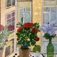 Моя картина «Начало лета» :: Ирина Коноплёва