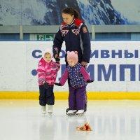 На лёд в первый раз :: Евгений Седов