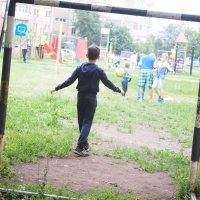 Футбол во дворе. :: Ильсияр Шакирова