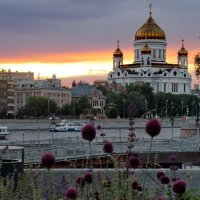 Вечером на Москва-реке :: sapoznik-1