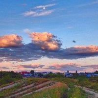 Восхитительный полёт облаков! :: Елена Хайдукова  ( Elena Fly )