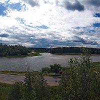 Озеро Стабна, вид с Городища. :: Aleksandr Ivanov67 Иванов