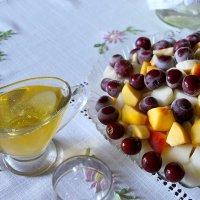 Холодный фруктовый салат с сиропом :: Надежд@ Шавенкова