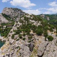 Гора Кошка в Симеизе :: Наталия Григорьева
