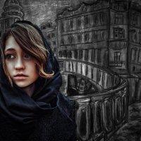 Сонечка Мармеладова. Коллаж. :: Владимир Гурьянов