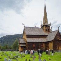 церковь в Норвегии :: Диана Матисоне