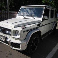 Белый джип Mercedes :: Дмитрий Никитин