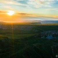 Восход над плато Бийчесын( Карачаево-Черкессия) :: Сергей