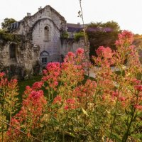 закат на церковь в руинах :: Георгий А